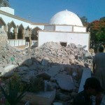 Derna mosque bombed