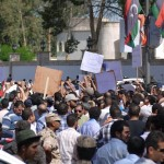 Hundreds gather at Congress in support of Bani Walid