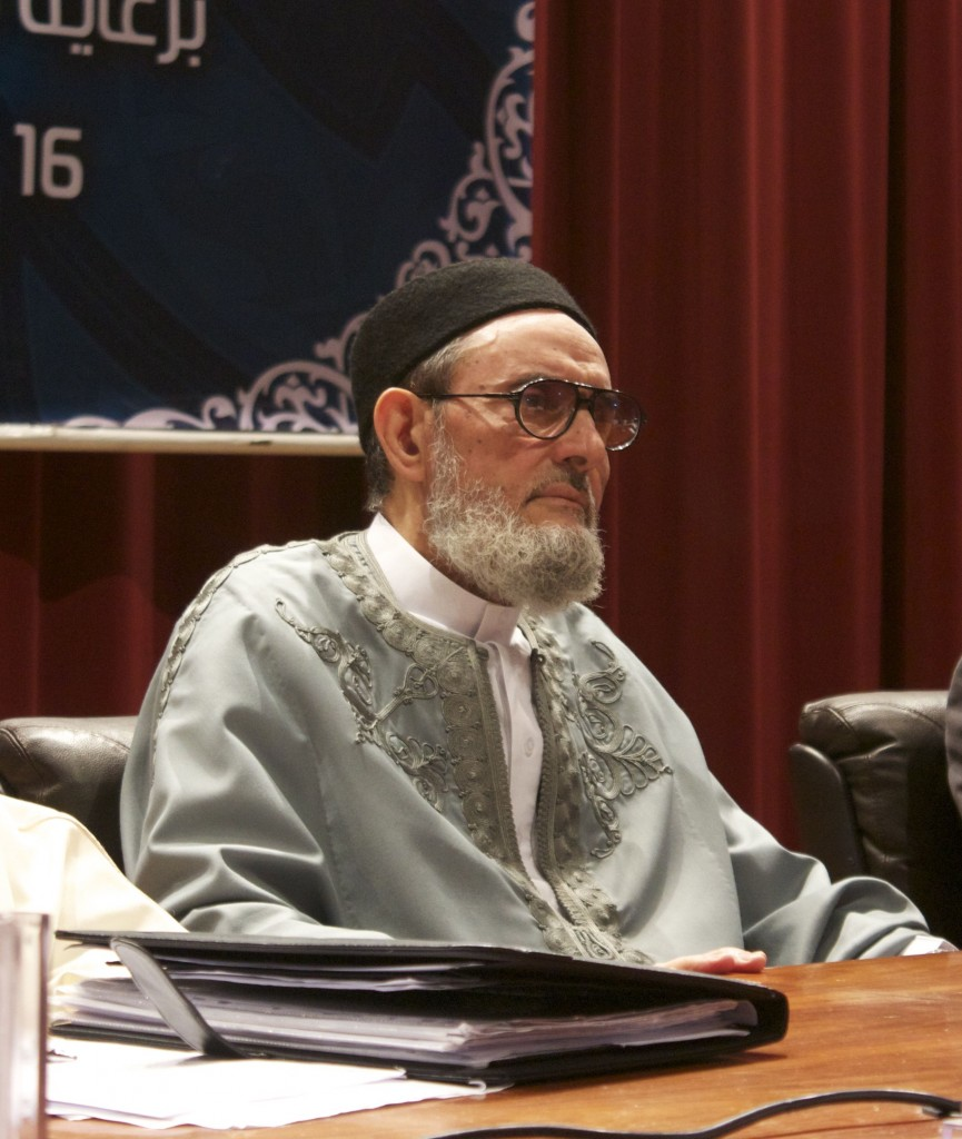 The Grand Mufti, Sheikh Sadik Al Ghariani