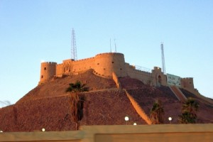 The fort at Sebha, capital of Fezzan.