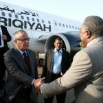 Zeidan arrives in Khartoum in tour of neighbouring states