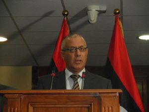 Prime Minister Ali Zeidan finally named the LIA today at his press conference (Photo: Sami Zaptia).