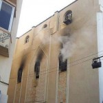 Benghazi church set ablaze