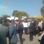 Demonstrators at Appeal Court want Khatabi's release