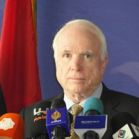 Senator McCain – no troops on the ground in Libya