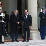 Zeidan discusses security support with French President Hollande
