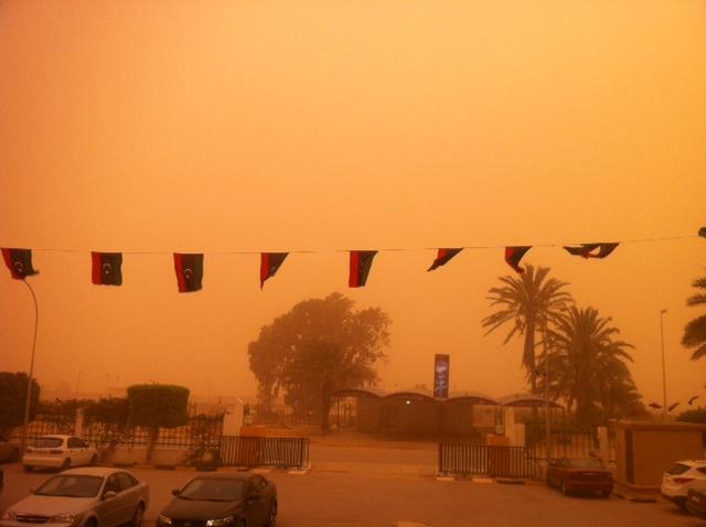 Ghibli Grounds Air Traffic In Benghazi