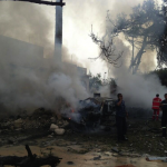 French embassy bombed