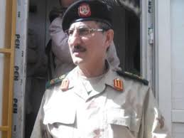 Southern military governor Ramadan Barasi (File photo)