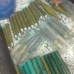 Weapons seized on Beida farm