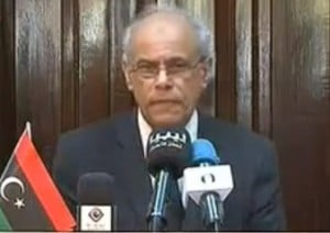 Former justice minister Salah Al-Marghani was among those who challenged the MoU (Photo; Libya Herald)