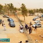Almadar communication tower falls killing child