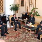Zeidan in Egyptian talks on economic cooperation