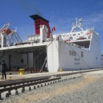 First ship on Tunisia-Khoms route docks