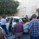 Italian embassy car bombed; no one hurt