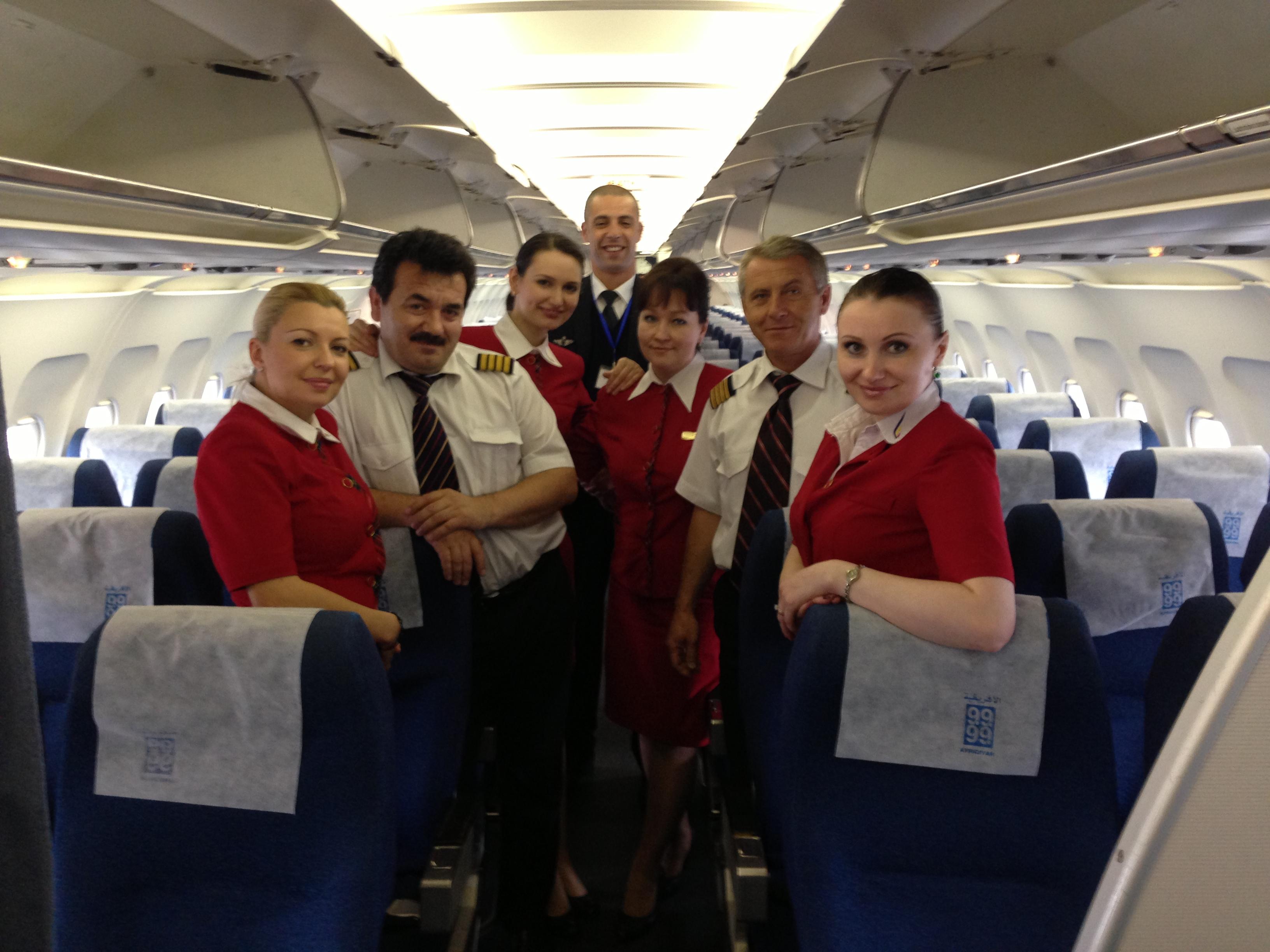 Air Moldova Crew