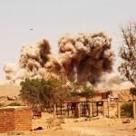 NATO bomb destroyed in Azizia