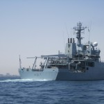 UK Warship helping Navy chart Libyan waters arrives in Tripoli