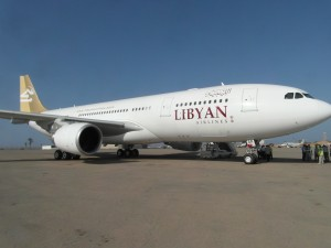 Libyan Airlines received Wednesday the second of its Airbus A330-200 in as many months (Photo: Sami Zaptia).