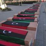 Coffin march from Suq Al Juma to Congress backs Political Isolation Law