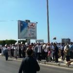 Demonstration at Egyptian Embassy against Cairo killings