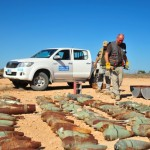 Clearance of unexploded ordnance makes Libyan cities safer