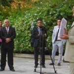 British ambassador presents six Chevening Scholarships for UK universities