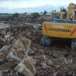 Developers start to wreck UNESCO World Heritage site