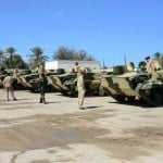 Russians deliver armoured fighting vehicles