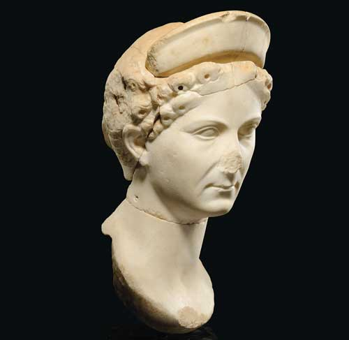 Stolen from Sabratha in 1990, the 1,100year-old carving of a woman's head was returned in 2011