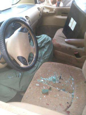 Colonel Abdullah Ahmed Zayad Al-Barrasi was shot in his car as he drove to work this morning