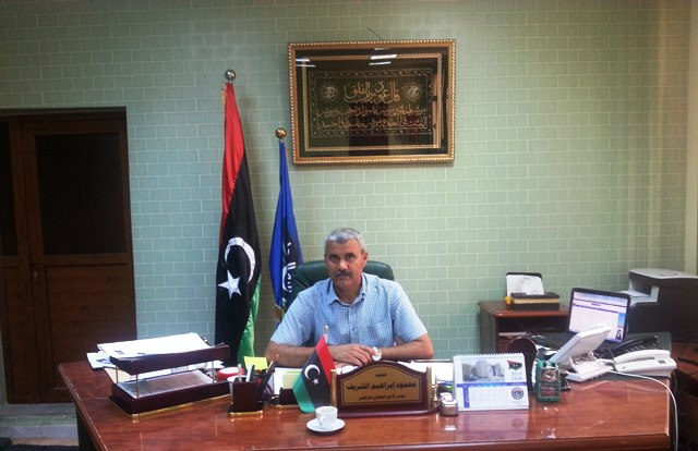 Tripoli's ex-top cop Col Sharif, who once had to buy bullets for his men