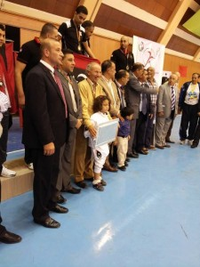 Libyan fencing team (Photo: Libyan Fencing Federation).