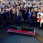 Highly charged funerals in Martyrs Square of Gharghour massacre victims