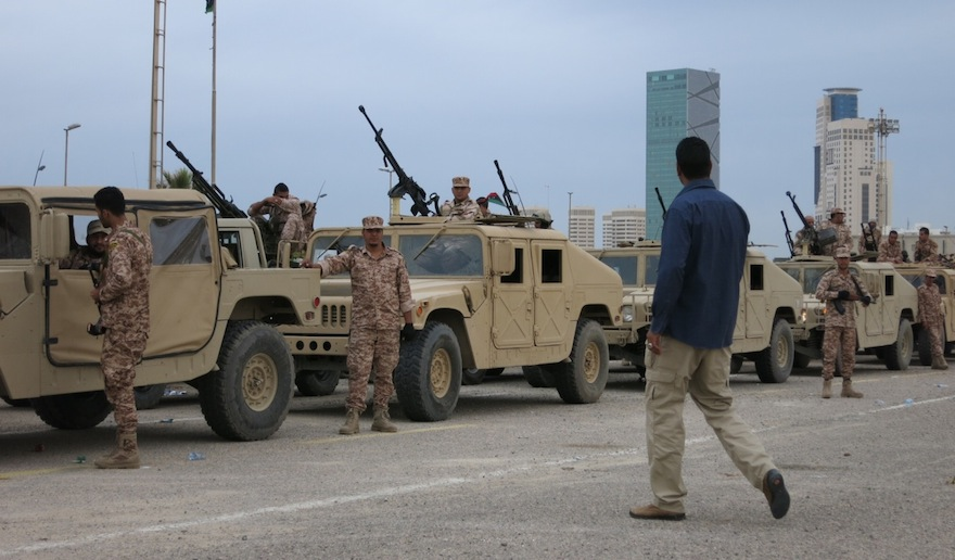 us says libyan armed forces training to go ahead