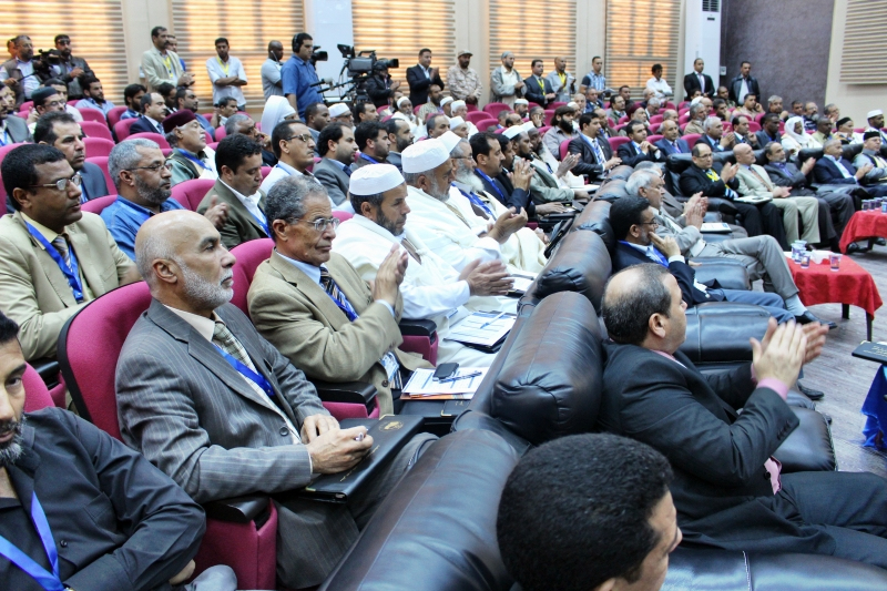 Members of local and shura councils from all over Libya attending the forum. (Photo: Taher Zaroog)