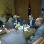 Zeidan and ministers fly to Misrata