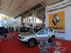 Renault launches Lodgy and Duster SUVs at Tripoli Motor Show