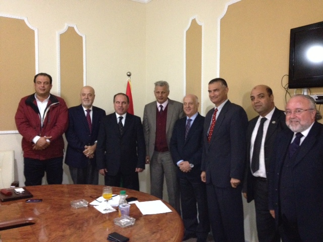 Malta trade delegation in Tripoli