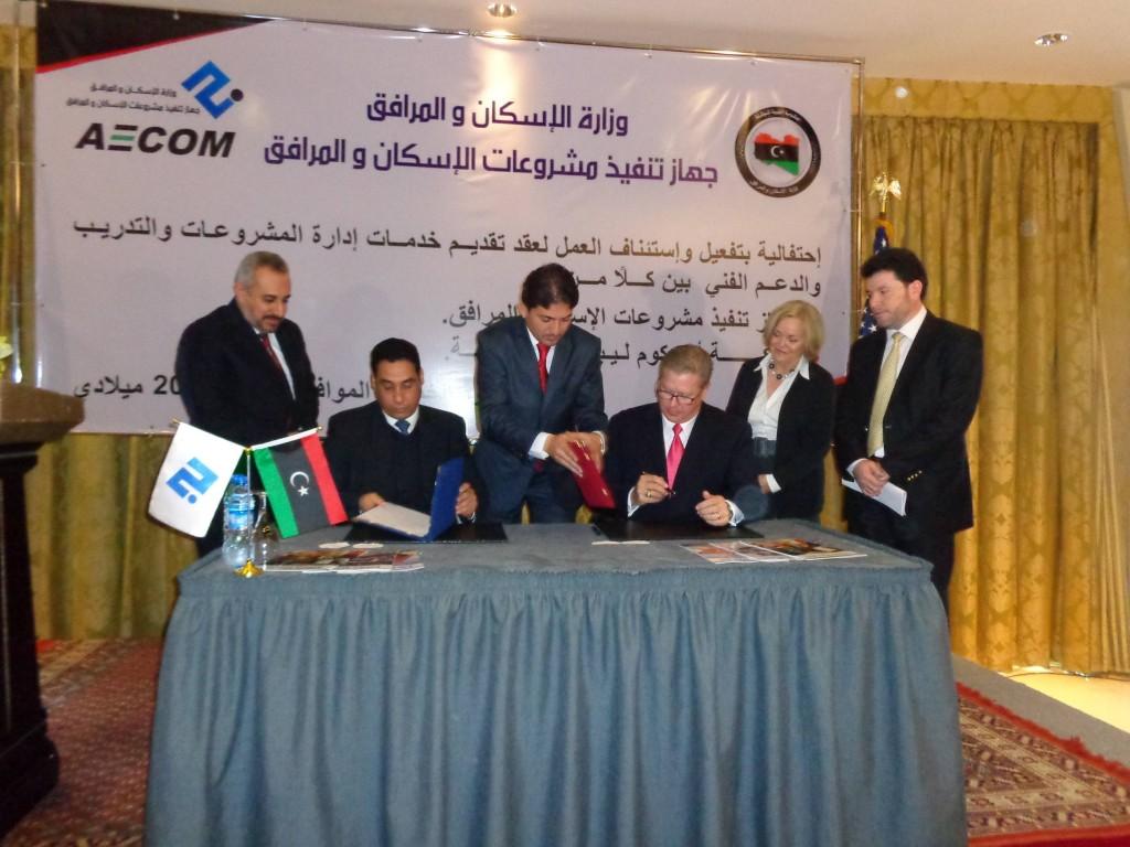 AECOM to resume work on multi-million dollar contract
