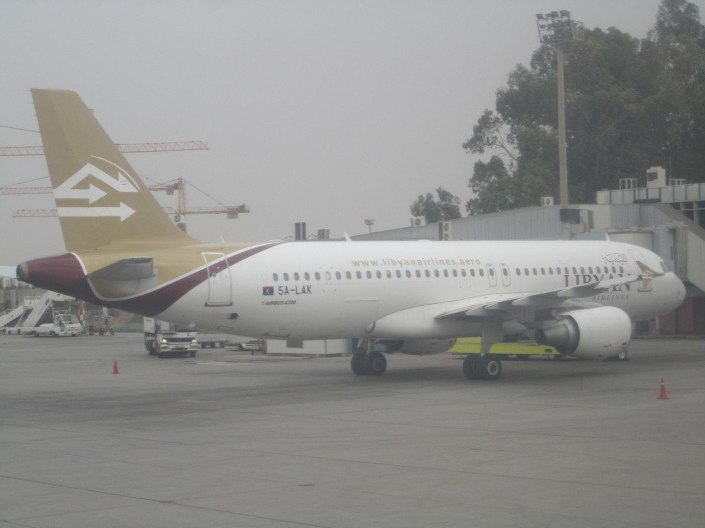 The voluntary flight restrictions on Libyan airlines flying in EU airspace are set to continue into 2014  (Photo: Tom Westcott, Libya Herald)