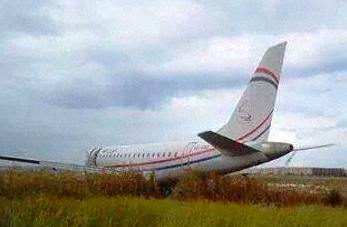 Technical fault caused Petro Air plane to overshoot runway