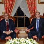 Zeidan discusses access for energy companies and military procurement with Turkish PM