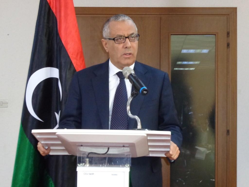 Prime Minister Ali Zeidan (Photo: Sami Zaptia).
