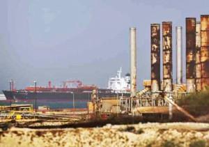 Brega export terminal
