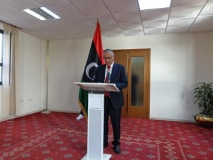 Prime Minister Ali Zeidan denied categorically the report by Le Figaro that foreign troops were in southern Libya (Photo: Sami Zaptia).
