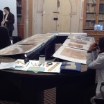 Historic documents conserved at the Red Castle
