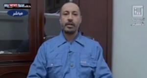 Saadi Qaddafi in Tripoli's Hadba Prison (Archives).
