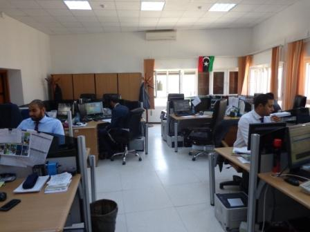 Treasury operations at CBL (Photo; Ashraf Abdul-Wahab)
