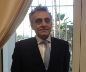 Ambassador Grimaldi at the Italian embassy in Tripoli (Photo: Archives of Libya Herald)